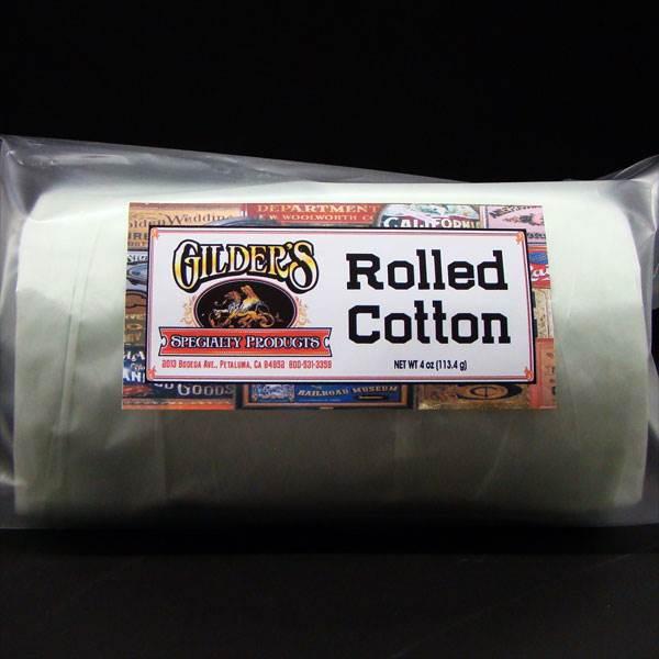 Rolled Cotton for Gilding Gold Leaf