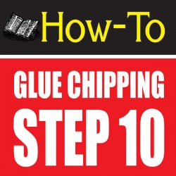 glue chipping-amazing glass craft tutorial step 10