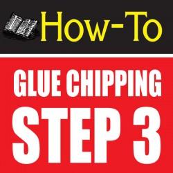 glue chipping-amazing glass craft tutorial step 3