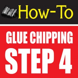 glue chipping-amazing glass craft tutorial step 4