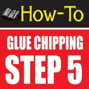glue chipping-amazing glass craft tutorial step 5