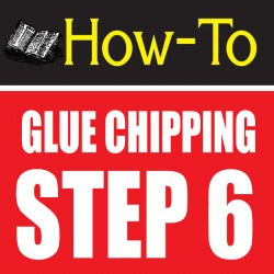 glue chipping-amazing glass craft tutorial step 6