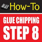 glue chipping-amazing glass craft tutorial step 8