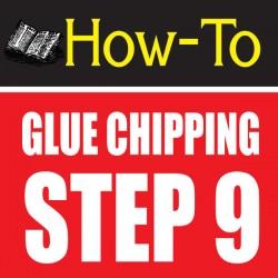 glue chipping-amazing glass craft tutorial step 9