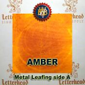 Amber Variegated Metal Leaf