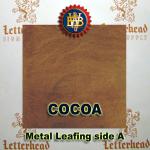 Variegated Metal Leaf-Cocoa 20 Book Pack