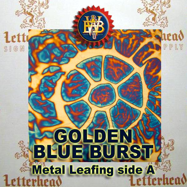 Variegated Metal Leaf-Blueburst 20 Book Pack