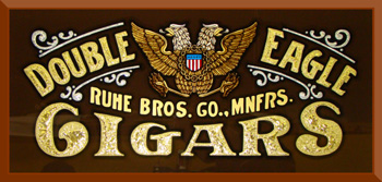 Double Eagle Cigars by Ron Percell, Rawson and Evans Reproduction
